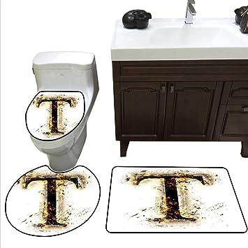 Lettre S Tapis de bain et WC Tapis de bois lettres de l ...