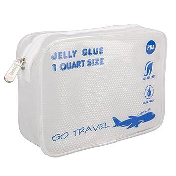 36f8782c3e87 Amazon.com   Clear Travel Toiletry Bag-TSA-Approved