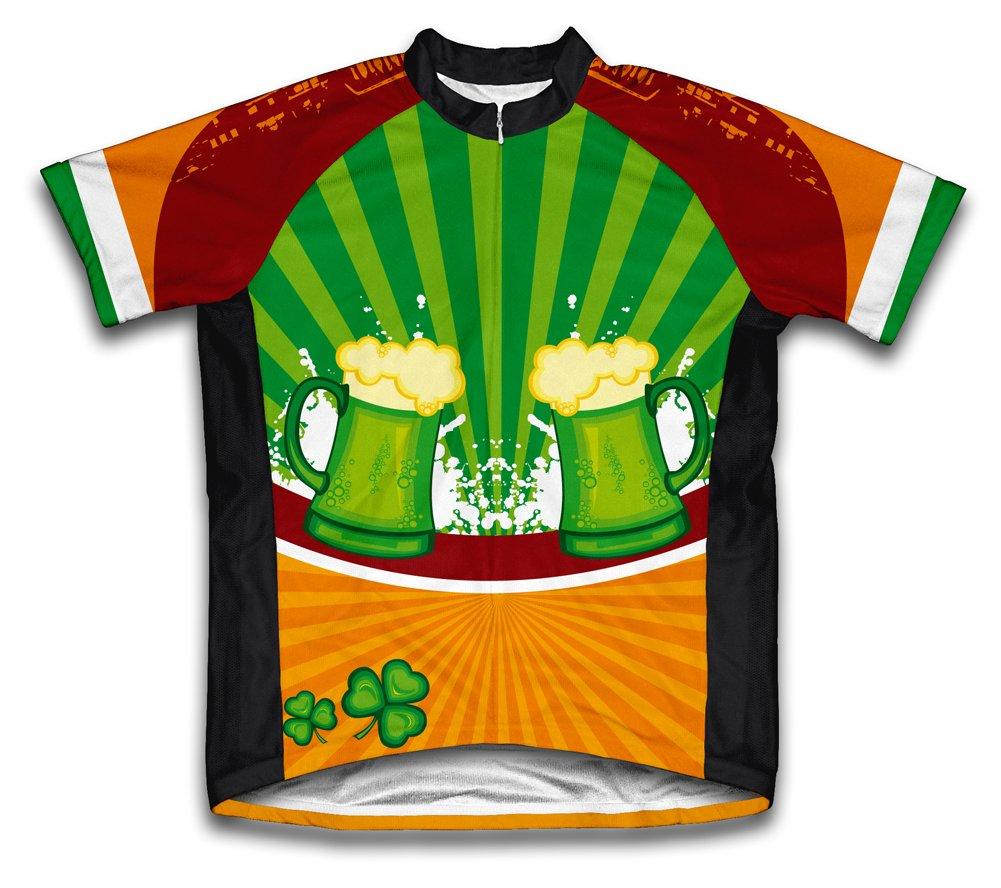 セントパトリックデー ラッキーグッズショートスリーブ サイクリングジャージ レディース X-Large  B004HZN2TK