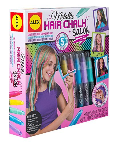 ALEX Toys Various Metallic Hair Chalk Salon Kit