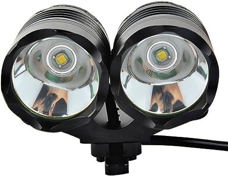 GRDE® Super Brillante 4000 Lúmenes Luz de Bicicleta 3 Modos de ...