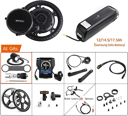 Bafang 48V 750W Mid Drive Conversion Kit Electric Bicycle Mid Motor Kit E-Bike for Adults Cycling for Road Bikes Mountain Bike