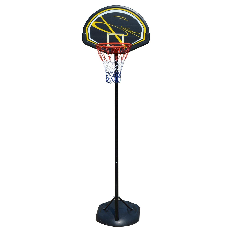 Bestlucky Portable Basketball Hoop System,Adjustable Height 8ft.- 11ft. Outdoor Indoor