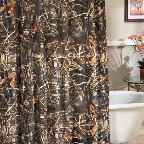 Curtains Ideas cheap camo curtains : Amazon.com: Realtree Max-4 Shower Curtain: Home & Kitchen