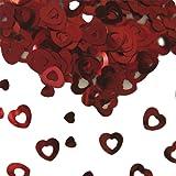 15g cuore rosso confetti wedding table