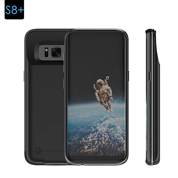 e3141e2bf Samsung Galaxy S8 Plus Extended Battery Backup Case, TORUIBIA 5200mAh Portable  Rechargeable Battery Charger Power
