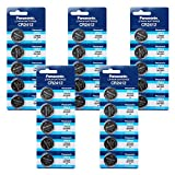 Panasonic CR2412 3V Lithium Battery 5PACK X (5PCS) = 25 Single Use Batteries