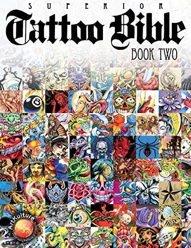 Based on the success of Tattoo Bible Book One, ArtKulture Publishing brings to market Tattoo Bible Book Two, another unique and colorful collection of flash art. Everything is here, from skulls to tribal, Americana to the avant-garde.Tattoo Bible Boo...