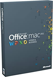 Office Mac Home and Business 2011 - (1 User/2 Installs)