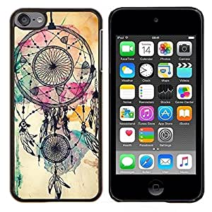 "S-type Catcher indio nativo de la acuarela"" - Arte & diseño plástico duro Fundas Cover Cubre Hard Case Cover For Apple iPod Touch 6 6th Touch6"