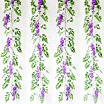 Artificial-Flowers-3-Pcs-66ft-Wisteria-Garland-Ivy-Vine-Silk-Hanging-Plants-for-Wedding-Arrangements-Outdoors-Decorations-Home-Garden-Party-Decor-Simulation-Flower-Purple