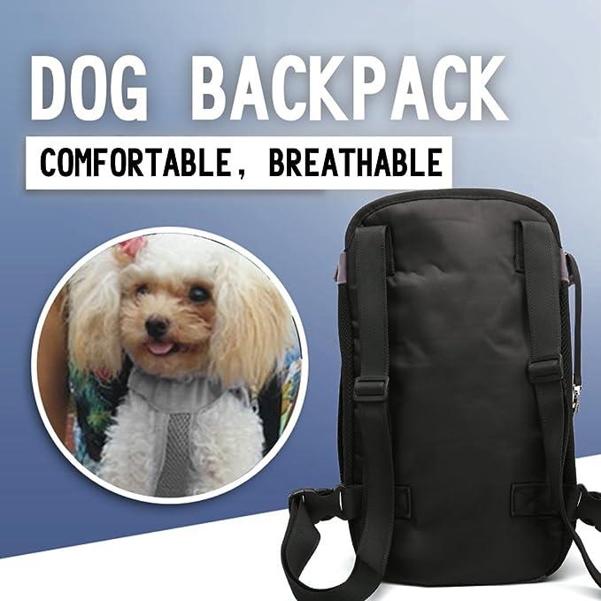 OMEM Mochila Carrier Frontal de sujeci/ón Ajustable de Perro de Mascota Gato al Aire Libre Bolsa de Viaje