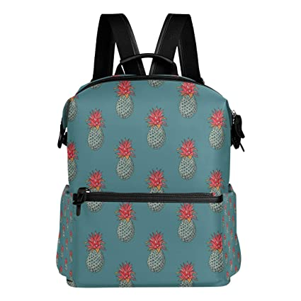 1fb9117abefb Amazon.com: Travel Laptop Backpack Pineapple Funky Durable College ...