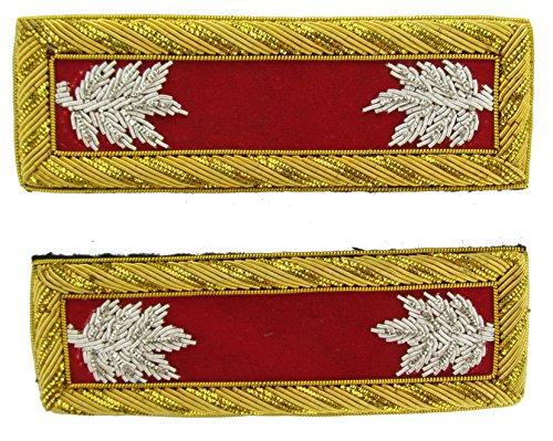 LT COL Reproduction ARTILLERY Officer Civil War Shoulder Board Rank for - Uniforms Civil Artillery War