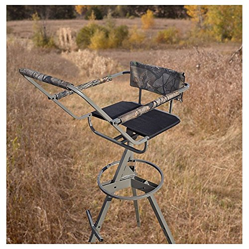 Upc 885344661342 guide gear 12 39 tripod deer stand for Deer stand images