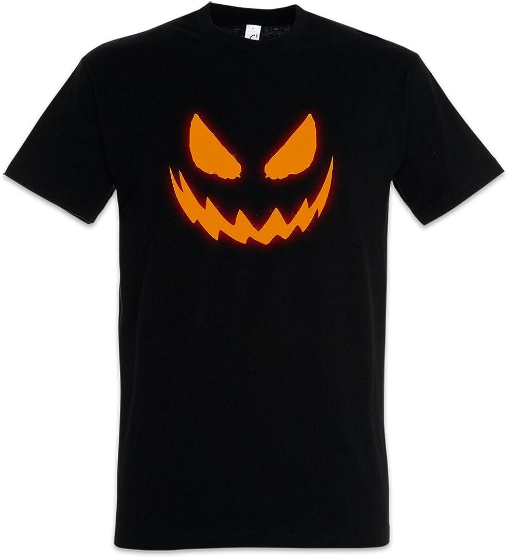 Urban Backwoods Glowing Halloween Pumpkin I Uomo T-Shirt
