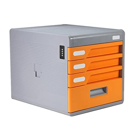 Archivadores Gabinetes de Archivo A4 Tipo de cajón 4 Capas Oficina de Bloqueo de contraseña de