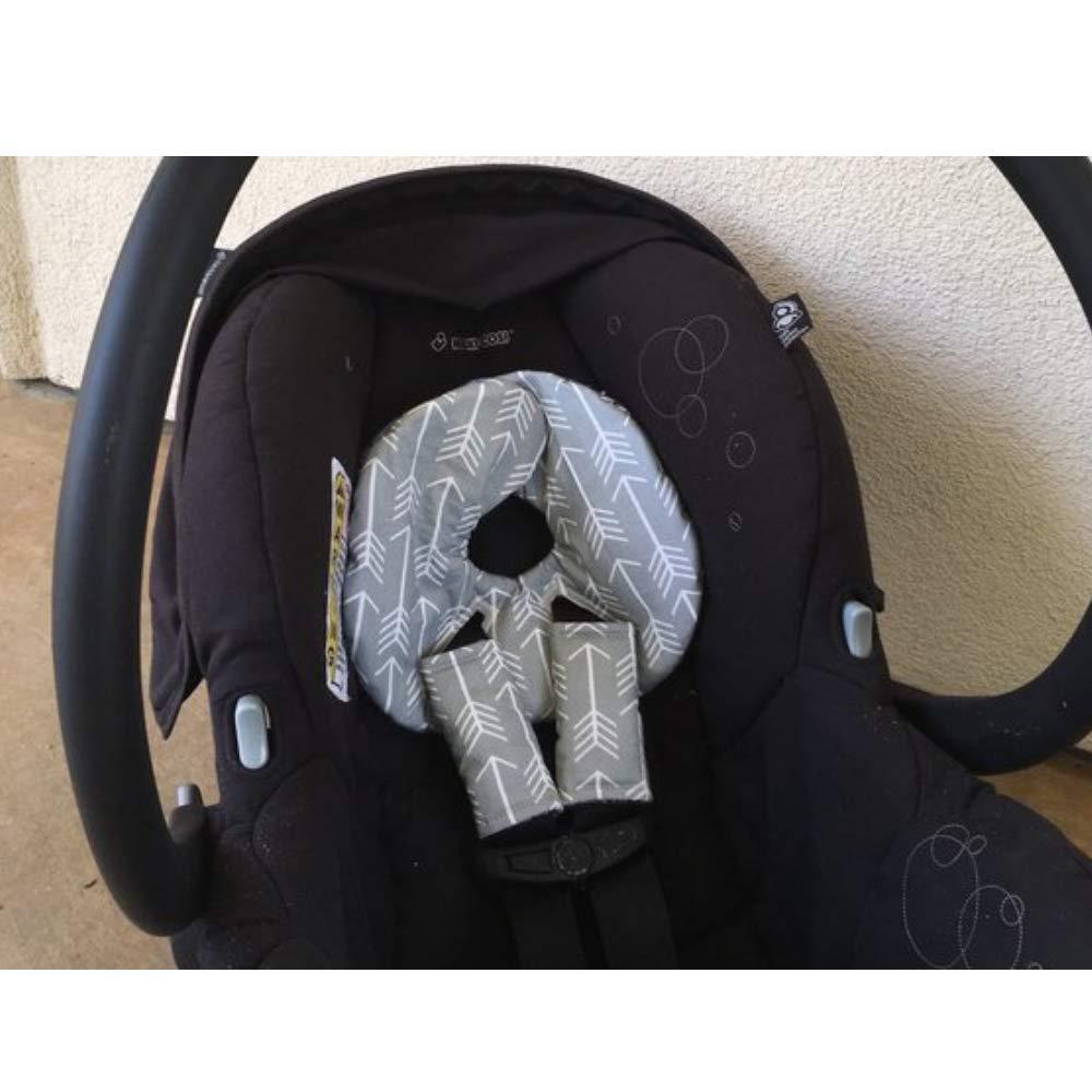 Car Seat Head Support For Infants Newborn Car Seat Insert Infant Car