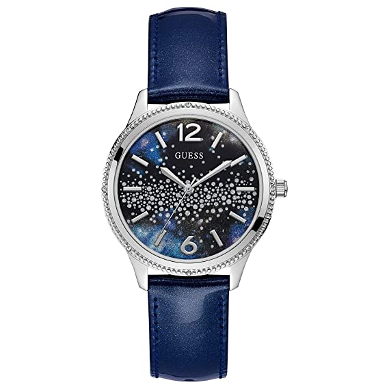 212e189994c1 Buy GUESS Analog Blue Dial Women s Watch - W1028L1 Online at Low Prices in  India - Amazon.in