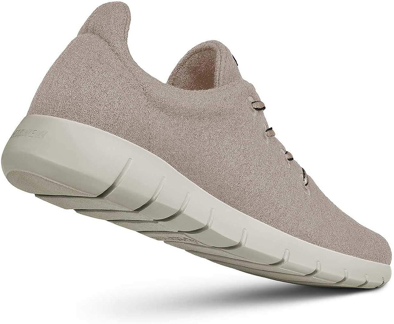 GIESSWEIN Men Runners Men - Baskets sportifs pour homme - Chaussures respirantes - 100 % laine mérinos Sandmelé