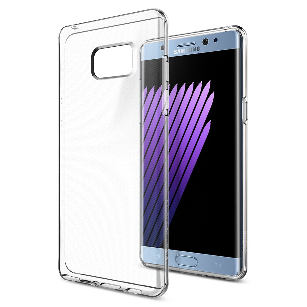 Galaxy Note 7 Case, Spigen [Liquid Crystal] Ultra-Thin [Crystal Clear] Premium Semi-transparent / Exact Fit / NO Bulkiness Soft Case for Galaxy Note 7 (2016) - (562CS20405)