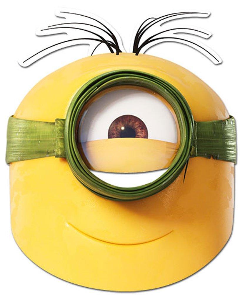 empireposter Minions - Au Natural Maske - hochwertiger Glanzkarton mit Augenlöchern