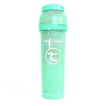 Biber/ón Antic/ólicos Verde Twistshake 330 ml