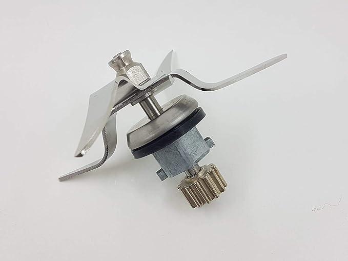 T-MIX Cuchillas DE Acero para Robot Monsieur Cuisine Plus, Robot SILVERCREST, LIDL.: Amazon.es