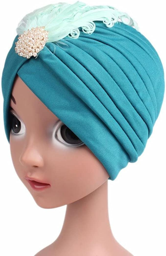 Suit for 3-8 years old Kids,DIGOOD Baby Girls Boys Warm Turban Beanie Hat Head Wrap Cap