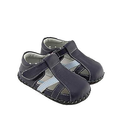 dcb374efbef72 FREYCOO - Chaussures bebe premiers pas cuir souple garçon