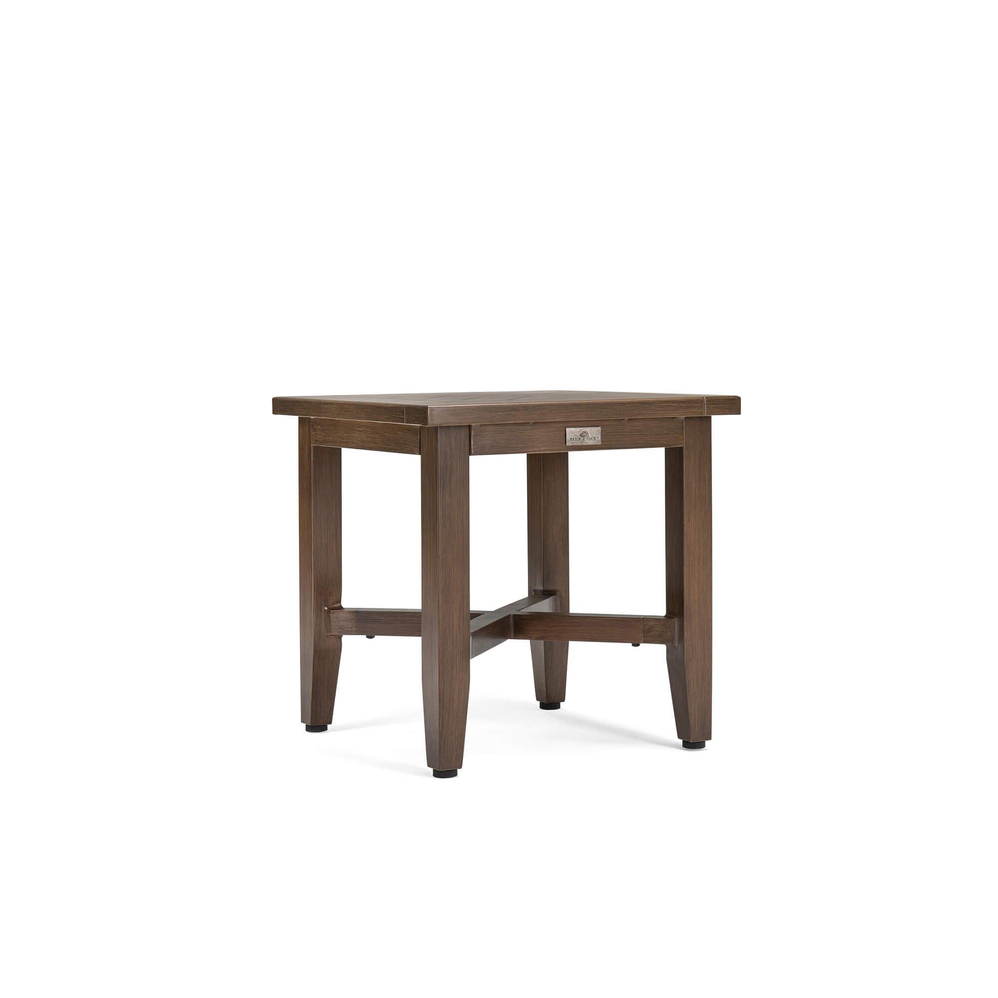 Blue Oak Outdoor Bahamas Patio Furniture Aluminum Side Table