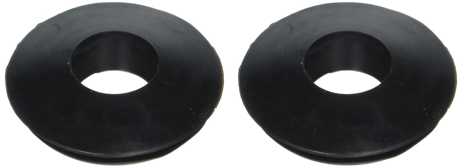 RoadPro RP-3601 Black Double Lip Gladhand Seal, (Pack of 2)