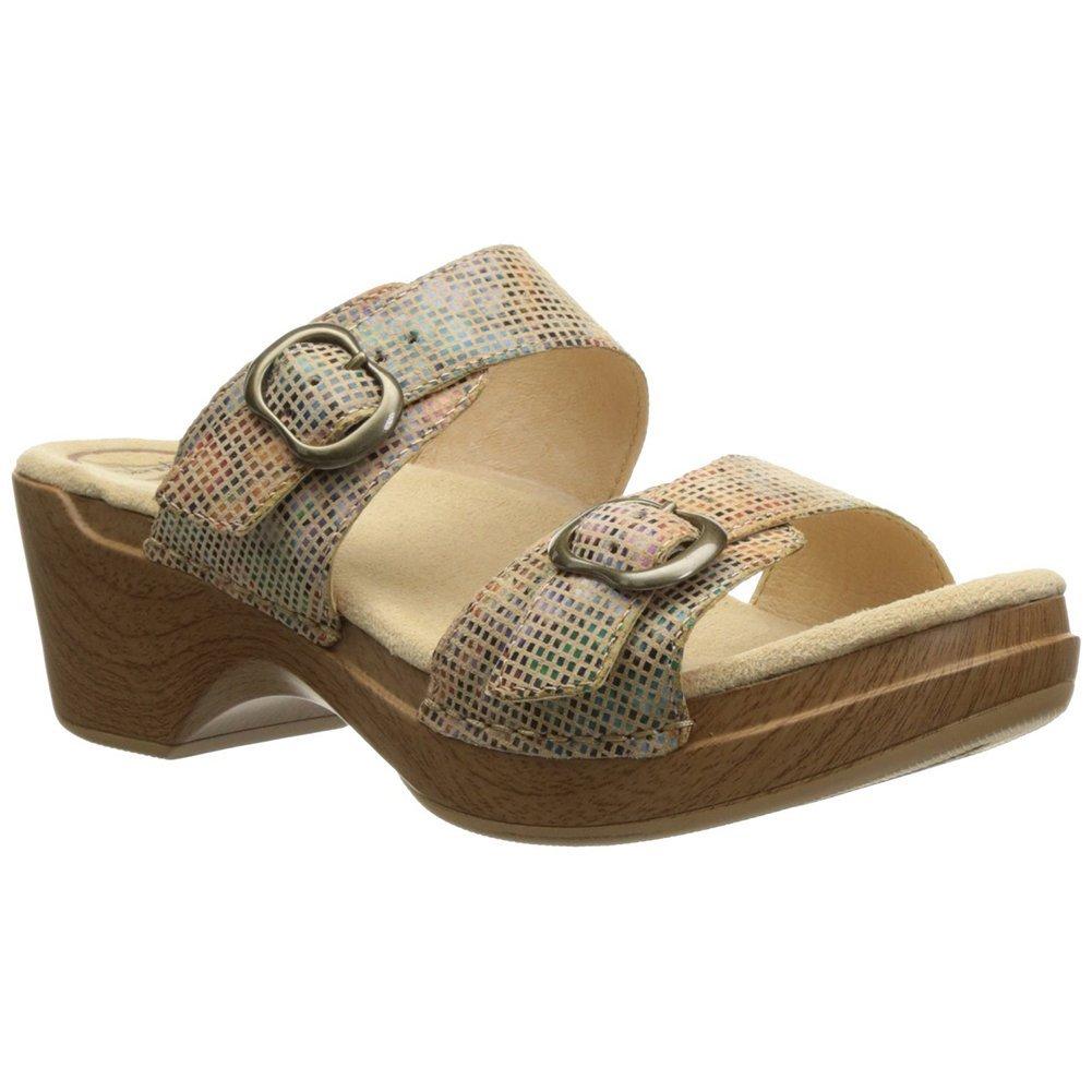 Dansko Sophie Women Platforms & Wedges Sandals , SandStainedGlass, Size - 41