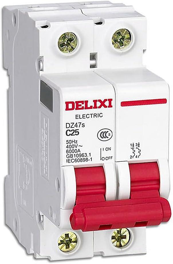 Interruptor Automatico Magnetotermico 25A 40A 63A 2Polos C25