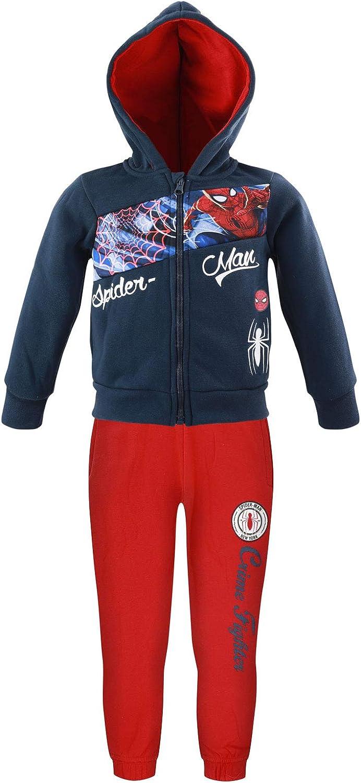 Sun City Marvel Avengers Spiderman - Chándal deportivo para niño
