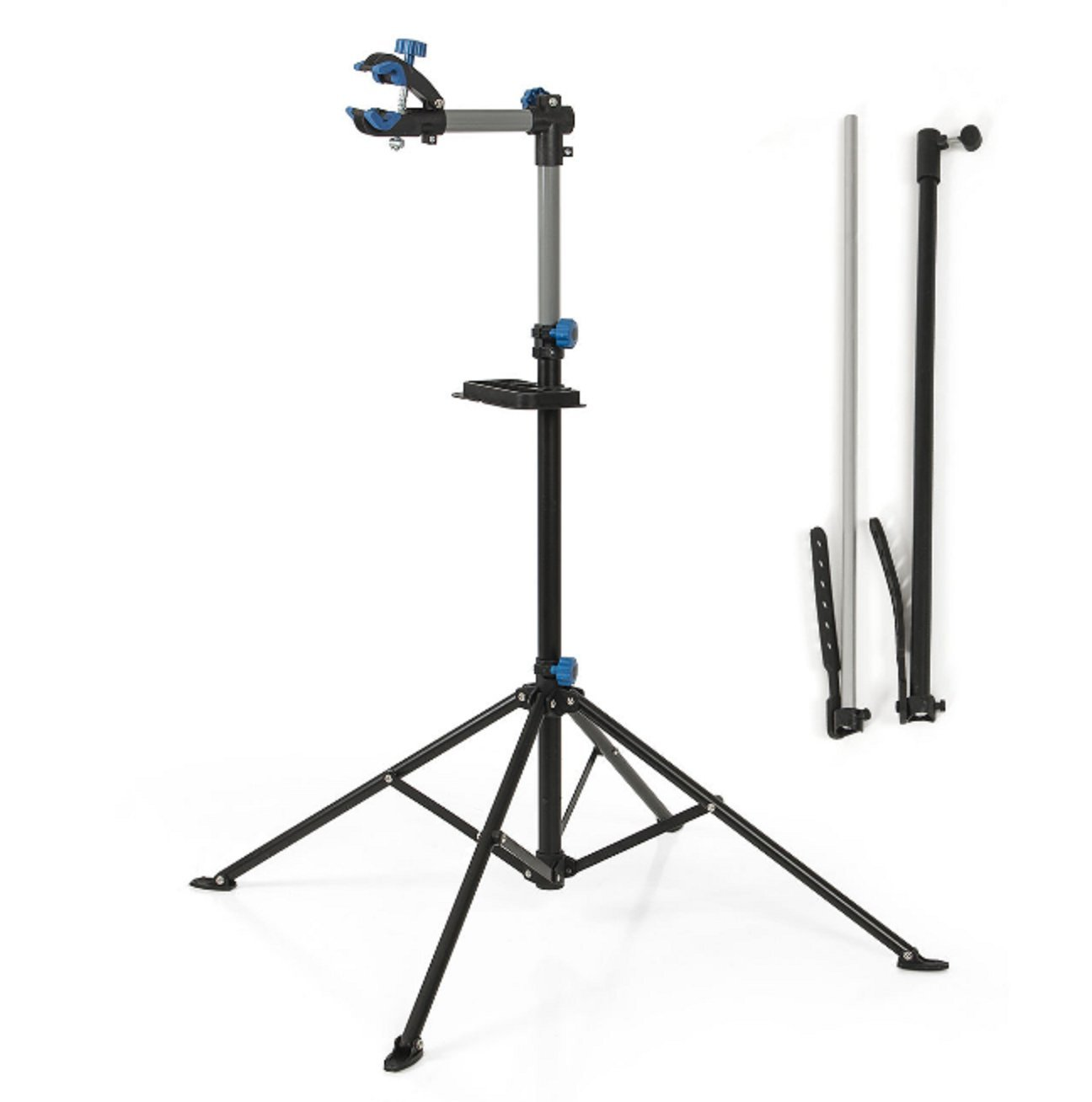 Stand Repair Bike Tool Bicycle Adjustable 43'' To 75'' Pro Rack Repair Stand With Telescopic Arm Cycle