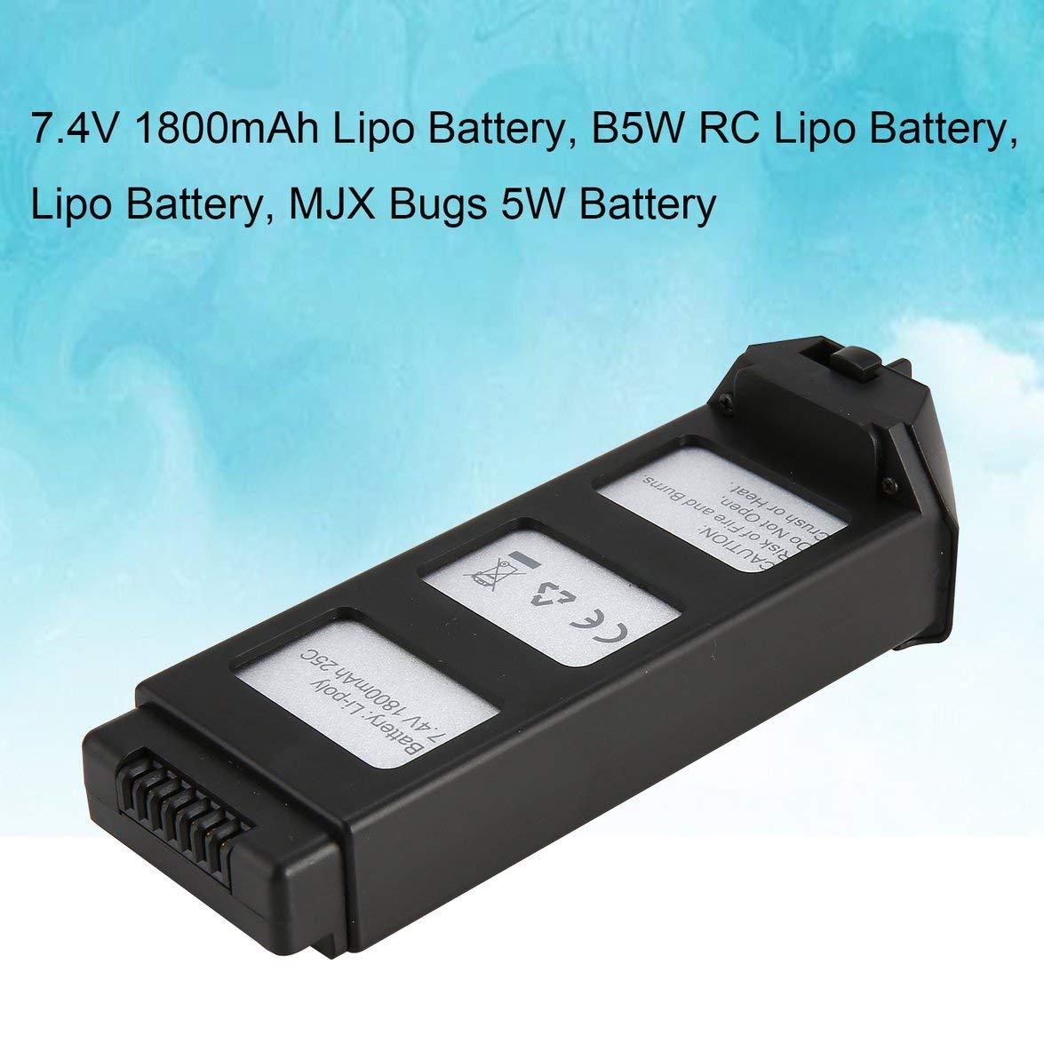 Kongqiabona 7.4V 1800mAh Batería Li-po con Cargador 4 en 1 ...