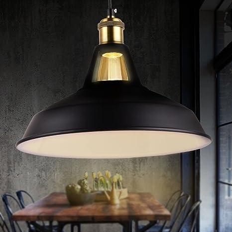 Vintage Pendant Lights Retro Farmhouse Pendant Lighting Fixtures Industrial  Metal Aluminum Hanging Lamp For Living And