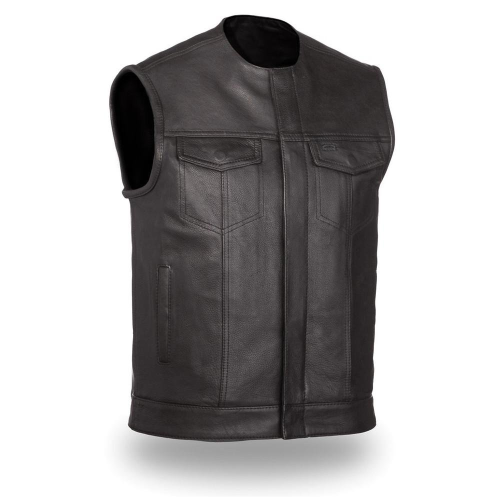 First Manufacturing Mens No Rival Motorcycle Vest