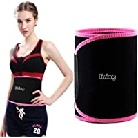 Waist Trimmer for Men & Women ~ Weight Loss Ab Belt - Premium Stomach Fat Burner Wrap Waist Trainer