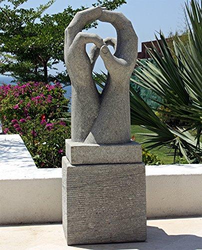 Large Garden Sculptures – Engage Modern Art Stone Statue