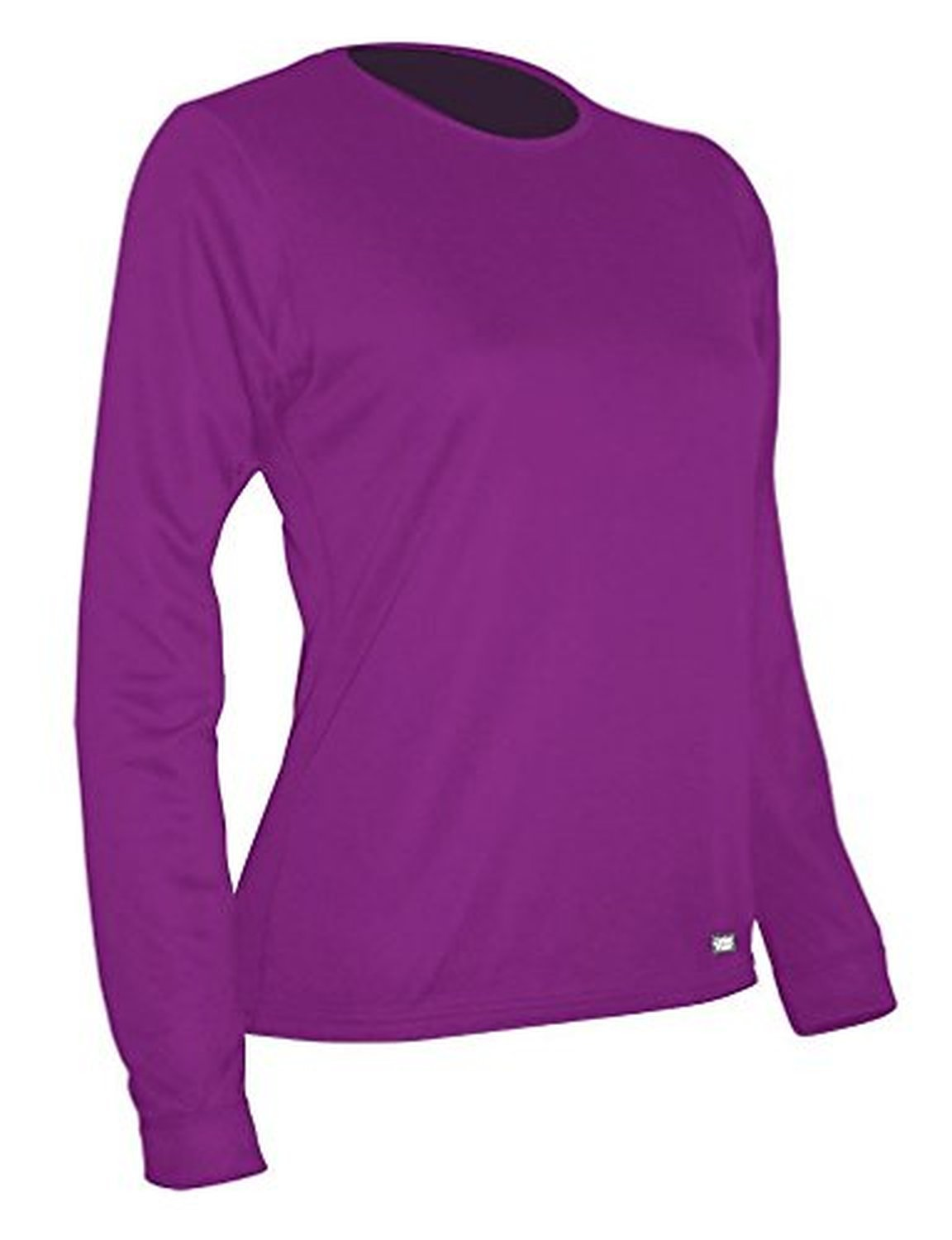 Polarmax Women's 2015 Double Baselayer LS Crew (Hot Pink, Small)