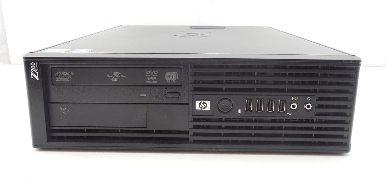 HP Z200 Workstation Desktop PC, Intel Core i5-650 3.2GHz CPU, 4GB DDR3, 750GB HD, Radeon HD 5450 Graphics, Windows 10