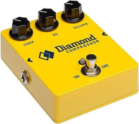 Diamond - Compresor de pedal para guitarra: Amazon.es ...