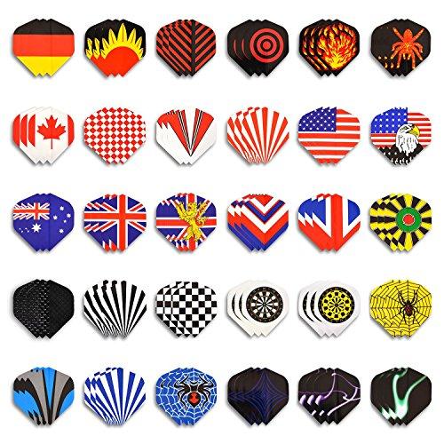 Winline Dart Flights 30 sets (90 Pieces) Standard Shape