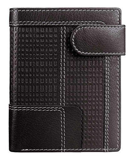 Mancini Leather Goods Collegiate Collection: Left Wing Hipster RFID Wallet (Collection Leather Hipster Wallet)