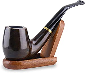 Detachable Gentlemen's Sherlock Holmes Pipe, Handmade Wood Tobacco Pipe Nice Gift for Your Friends,Father,Husband.