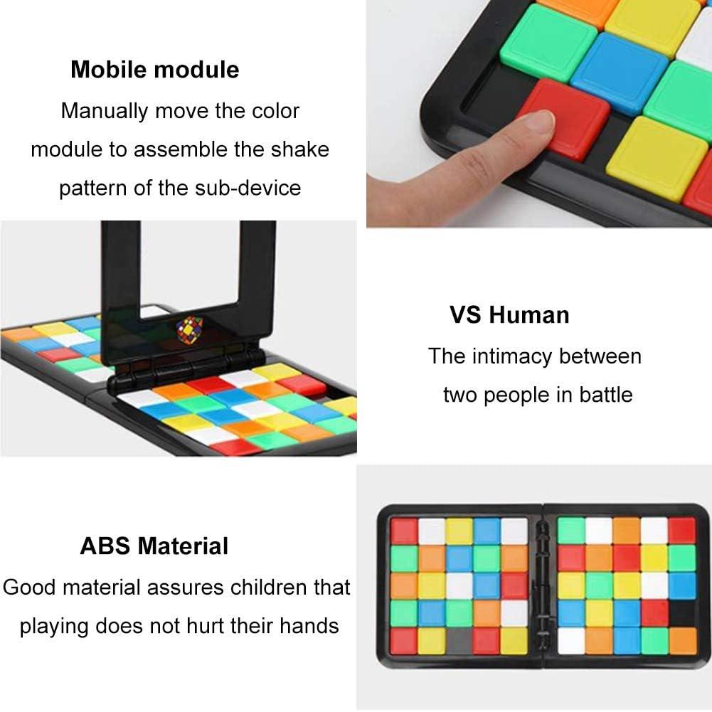 Magic Cube Toy Gift oque Inteligente Colorido Niños Juegos educativos Padres -Hijos Desarrollar Cerebros ABS Funny Board Adulto: Amazon.es: Jardín