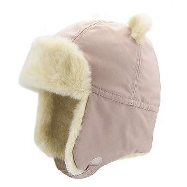 f6518b801 Amazon.com: Upsmile Boy Ushanka Hat Girl Bomber Hat Cap Earflap ...
