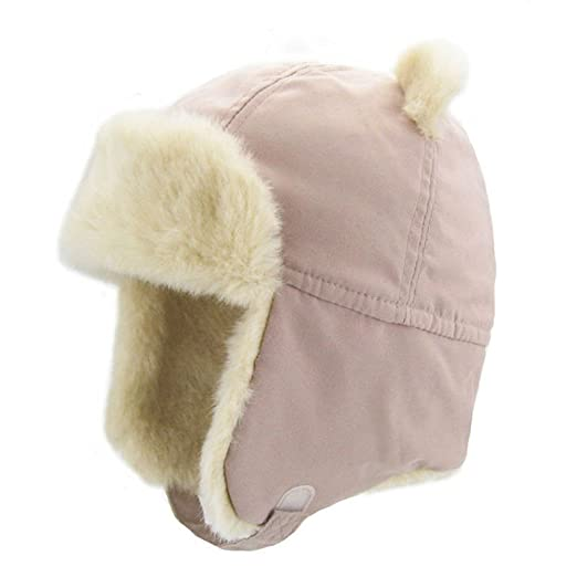 Amazon.com  Upsmile Boy Ushanka Hat Girl Bomber Hat Cap Earflap Trapper Hat  Ski Hunting Cap Cold Weather Hat  Clothing b1d6ea85b81